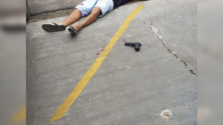 Policial teria se matado após tirar a vida da esposa.