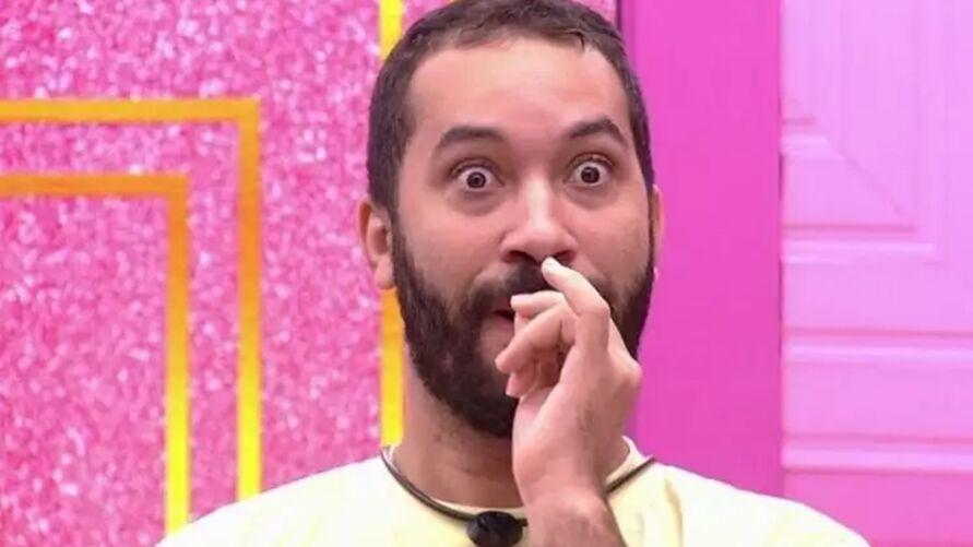Gilberto decidiu revelar alguns detalhes de sua via íntima os brothers do reality show da Rede Globo.