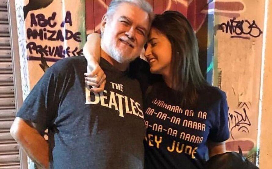 Imagem ilustrativa da notícia Mari Palma lamenta a morte do pai dois meses após descobrir câncer