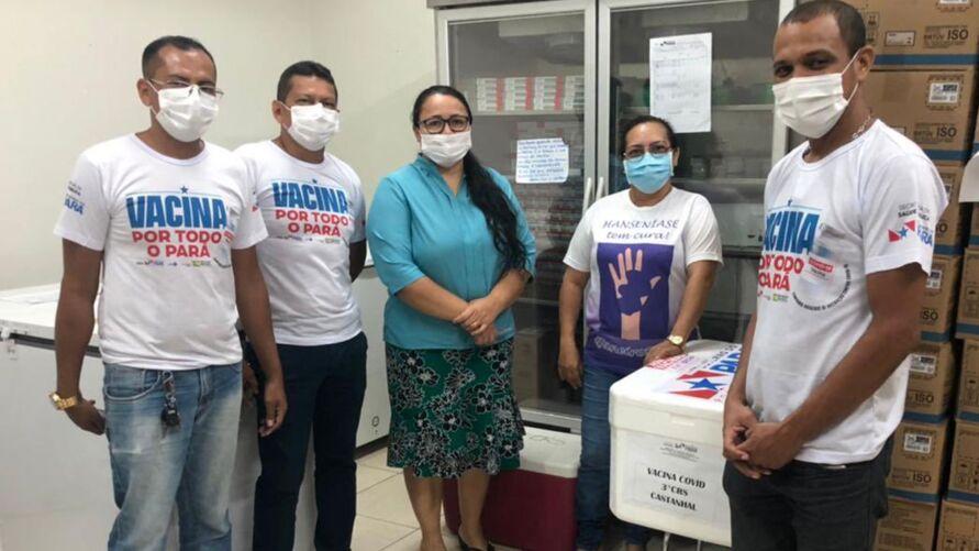 Equipes do 3º Centro Regional de Saúde já receberam as novas doses.