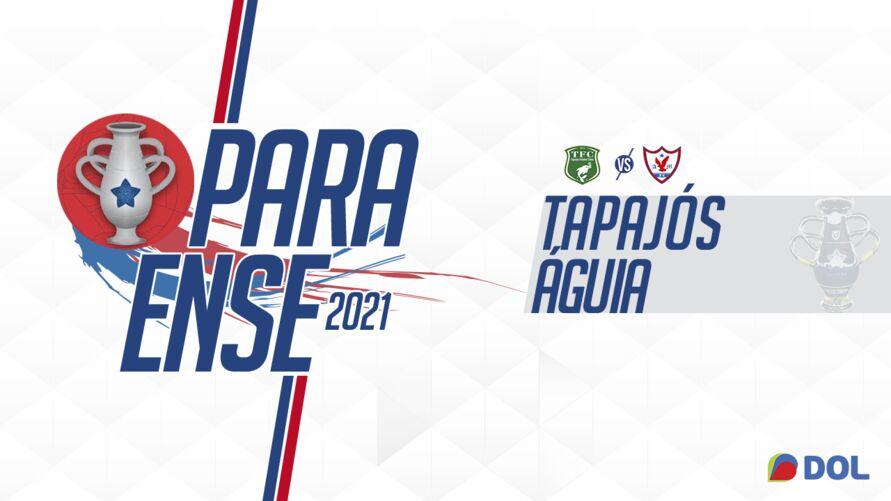 Imagem ilustrativa da notícia Rodada do Parazão termina com empate entre Tapajós X Águia. Veja os gols!