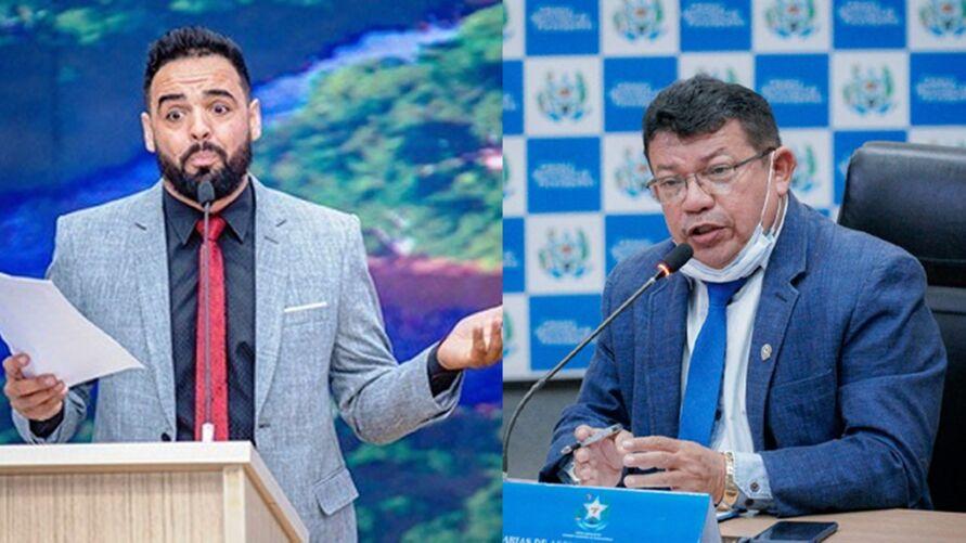 Os vereadores Aurélio Goiano e Zacarias, trocaram ofensas na tribuna eletrônica.
