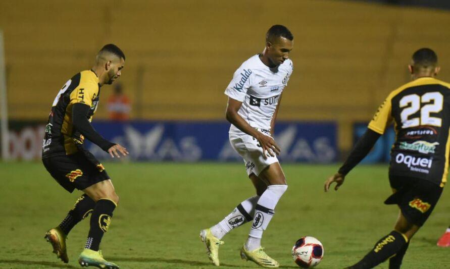 Santos perdeu por 1 a 0 para o Novorizontino