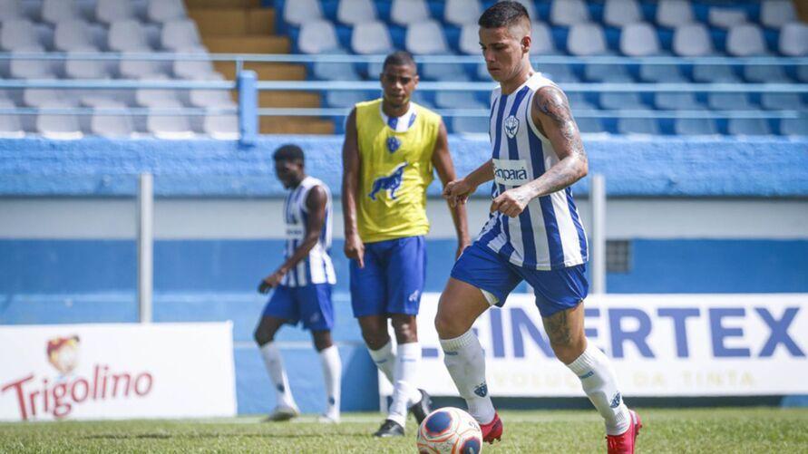 Diego Matos vai para a sua quarta temporada como profissional no Papão