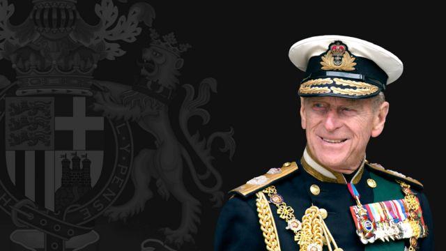 O príncipe Philip morreu com 99 anos de idade.