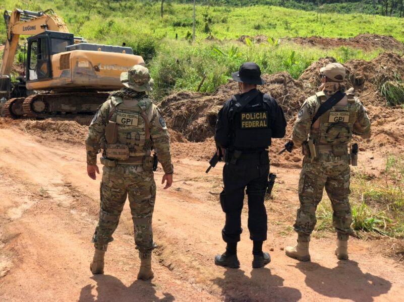 Imagem ilustrativa da notícia: PF desarticula extração ilegal ouro no Pará