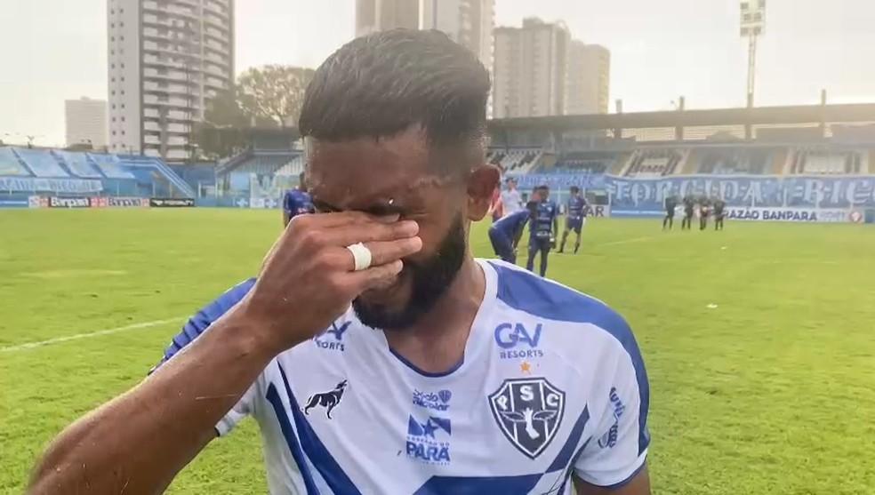 Depois de 1 ano afastado, Yure retorna ao time do Paysandu