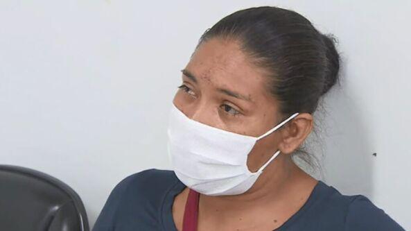 Patrícia Macedo dos Santos disse que passageiros perceberam que ônibus ia virar
