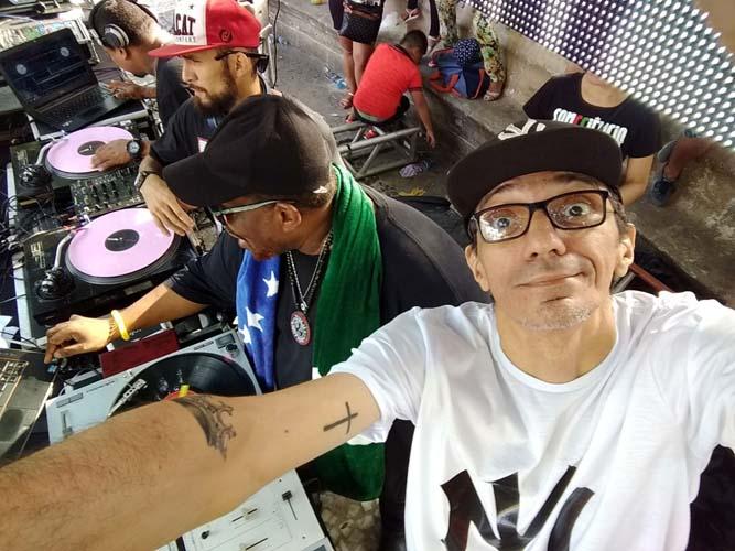 Festival Hip Hop Belém na praça Batista Campos