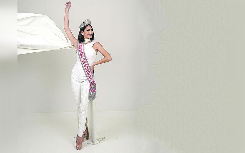Moanã já está no Panamá, onde ocorrem as provas do Miss Teen Universe 2020 até o próximo dia 20.