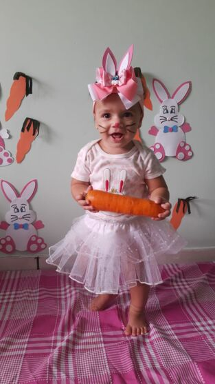 BABY DOL: Veja a galeria dos internautas mirins na Páscoa