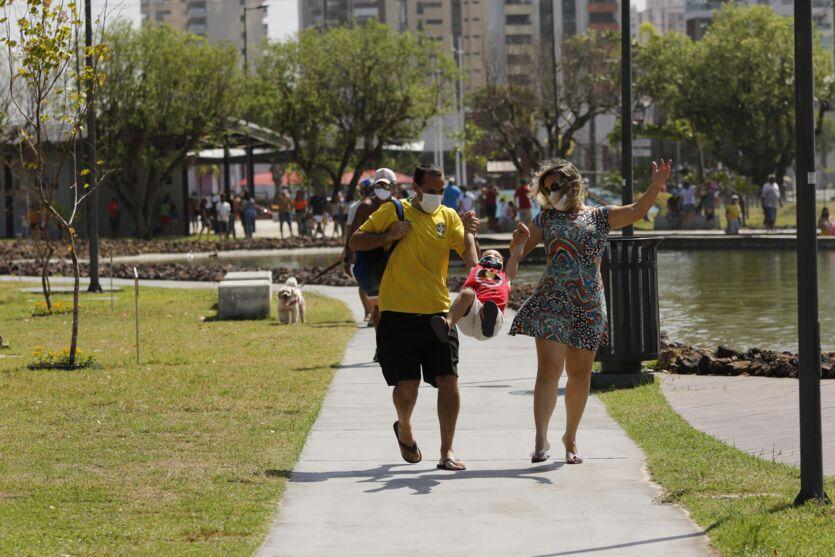 Porto Futuro é opção de lazer para paraenses aos domingos. Veja fotos!