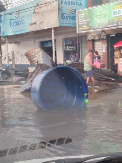 Icoaraci: veja imagens da destruição causada por ventania