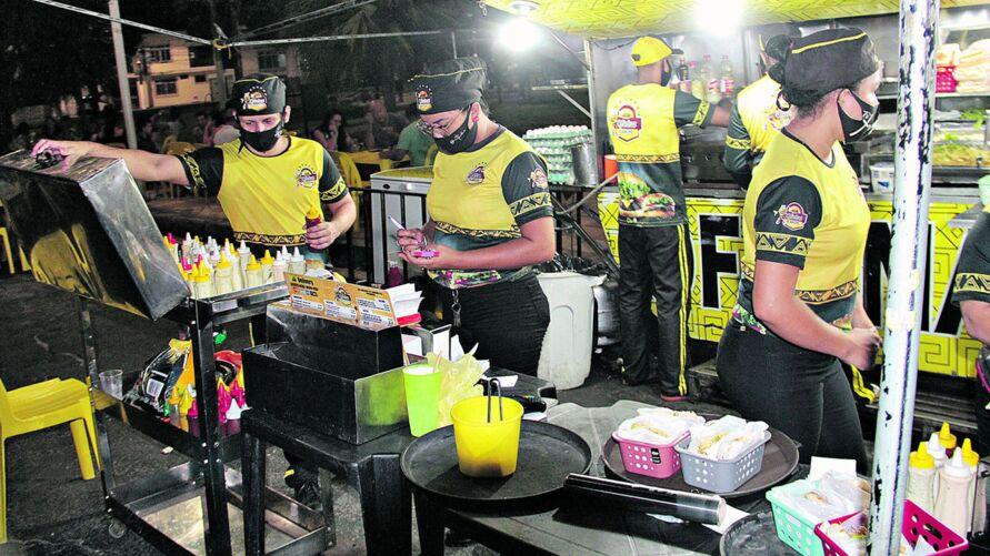 Tradição pelas ruas da capital, os carrinhos continuam em alta, mesmo durante a pandemia.