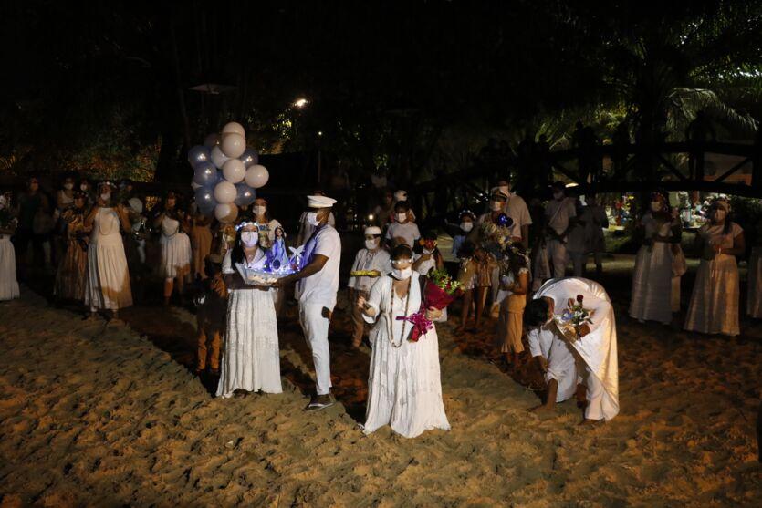 Feriado de Nossa Senhora da Conceição teve homenagens para Iemanjá e movimentação nos espaços de lazer