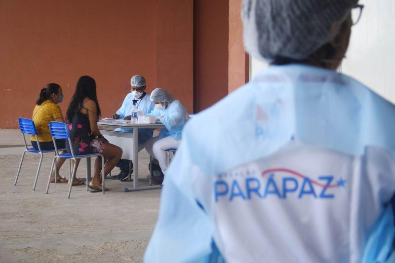 No Mangueirão, foram atendidas 14.028 mil pessoas, entre setembro de 2020 e fevereiro/2021, o NEL já registra 3.464 mil atendimentos