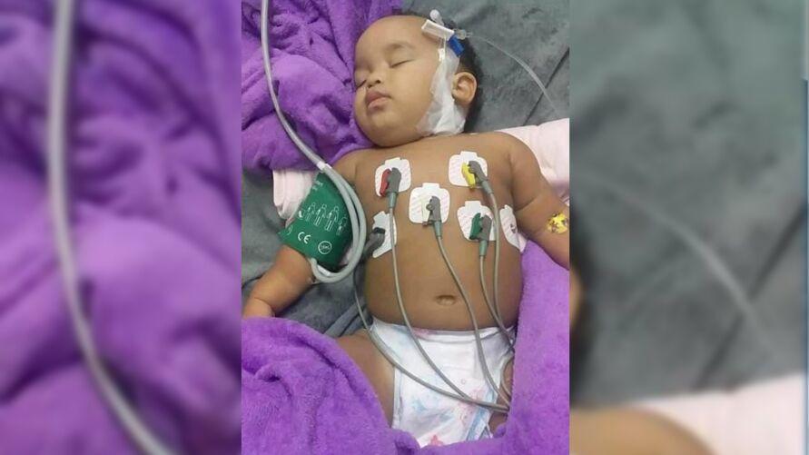 O tumor já atingiu 70% do seu pulmão e está comprometendo o coração.