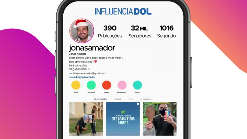 Imagem ilustrativa do vídeo: InfluenciaDOL #2: Jonas Amador