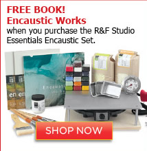 R&F Studio Essentials Encaustic Set