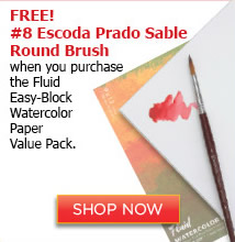 Fluid Easy-Block Watercolor paper value pack