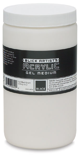 Gel Medium, Quart