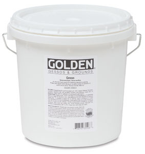 Golden Acrylic Gesso, White