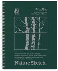 Pentalic Nature Sketch Book
