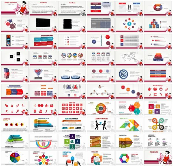 Listen Music PowerPoint Templates - Listen Music ...