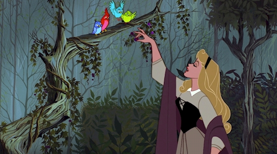 2. Aurora, Sleeping Beauty (1959).