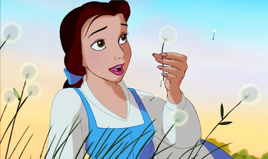 8. Belle, Beauty and the Beast(1991).