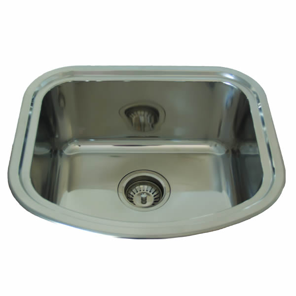milan single bowl undermount sink