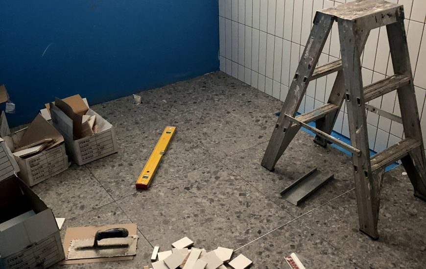 how to install bathroom tiles ross s