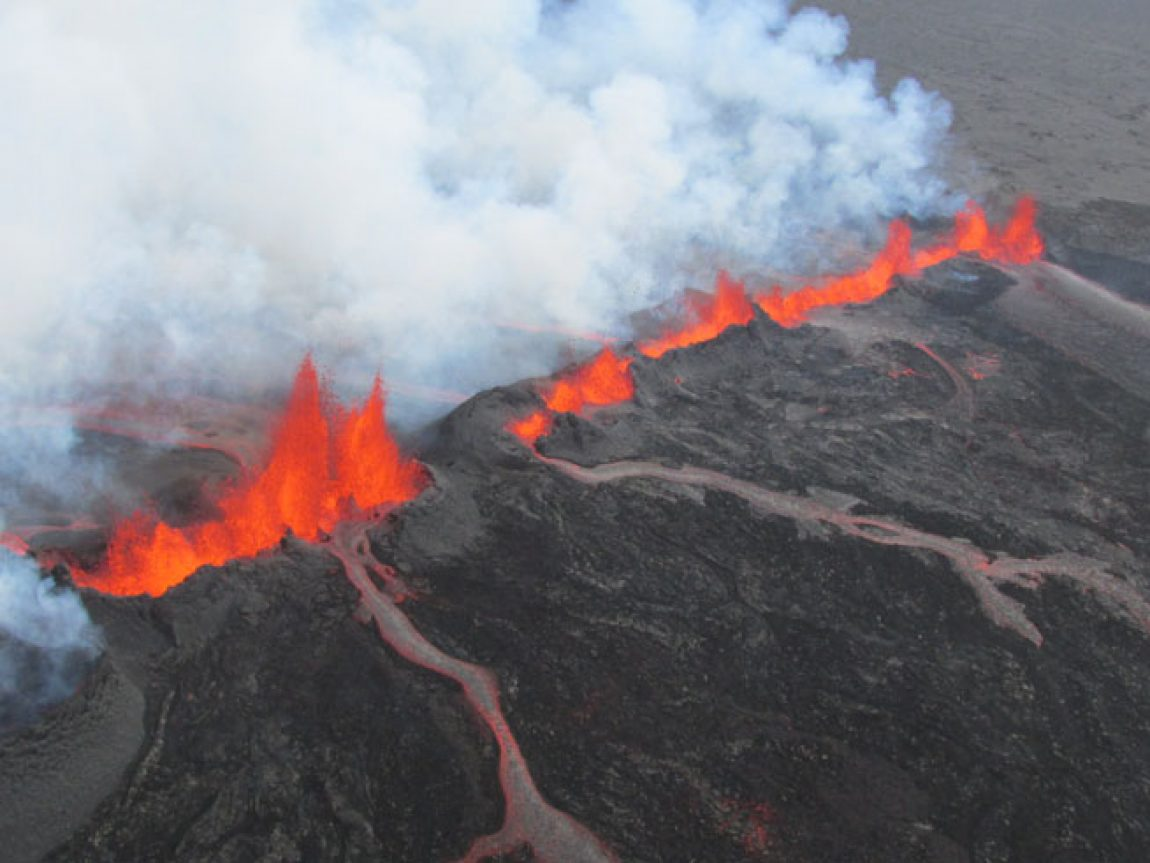 Volcanic Activity In Iceland