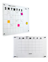 Printed Dry Erase Calendar Boards