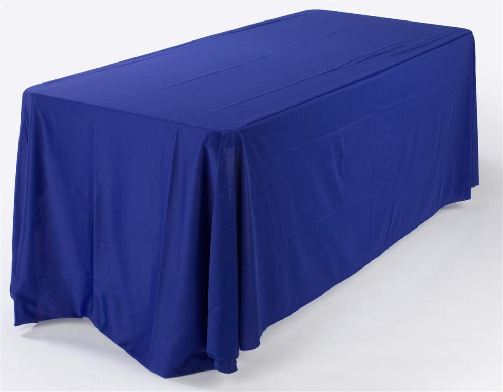 6 ft Royal Blue Table Cover Adds to the Overall Showcase ...