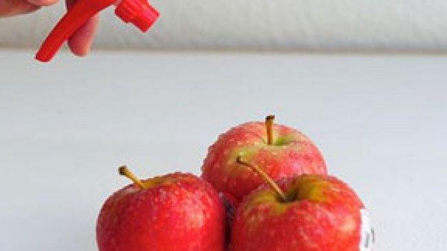 Cara Mudah Membuang Zat Pestisida pada Buah & Sayuran