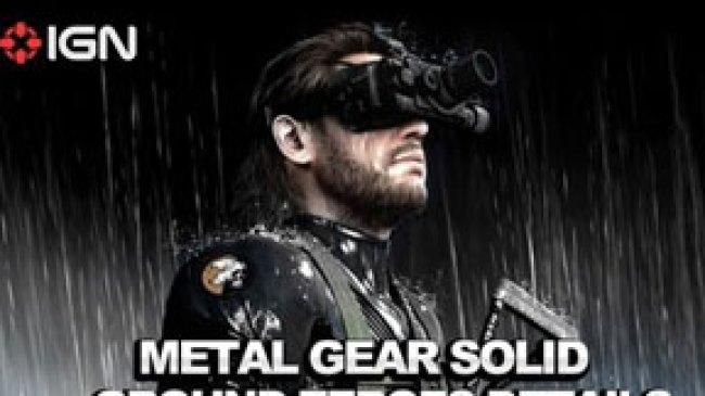 Games Metal Gear Solid Dengan Open-worldnya