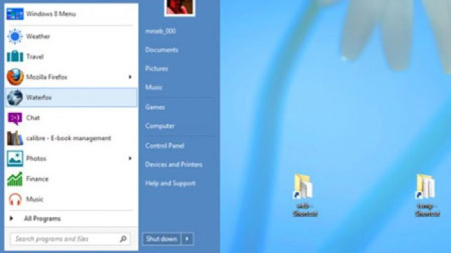 Windows 8.1, Sediakan Menu Tombol Start