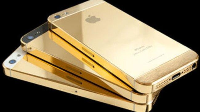 Wow, iPhone ini Lapis Emas dan Bertabur Berlian