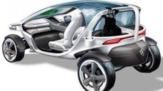 Mercedes-Benz Vision Golf Cart, Konsep Mobil Golf di Masa Depan