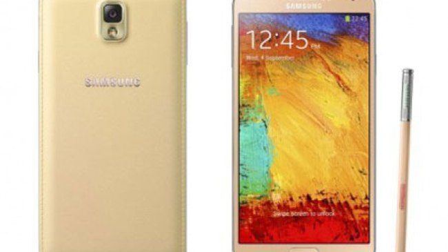 Galaxy Note 3 Warna White Gold Siap Menggoda