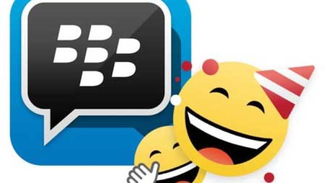 BlackBerry, kini punya sticker jumbo untuk BBM-an