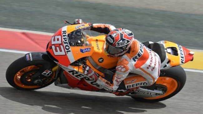 Marquez Juarai Latihan kedua MotoGP di Aragon