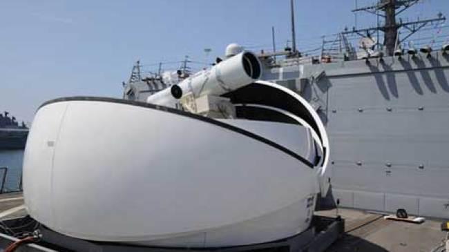 Kapal Laut AS, Dipersenjatai dengan Laser