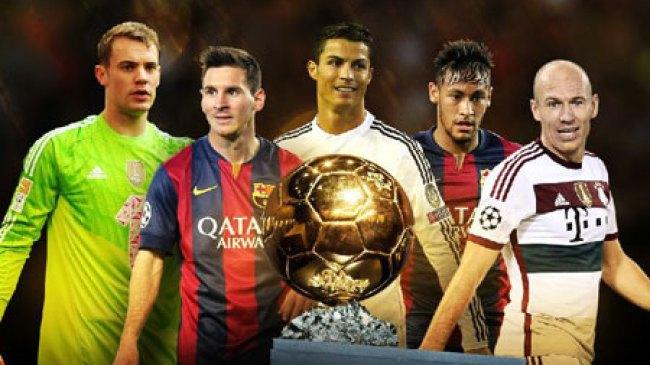 3 kandidat terkuat peraih Ballon d'Or 2014