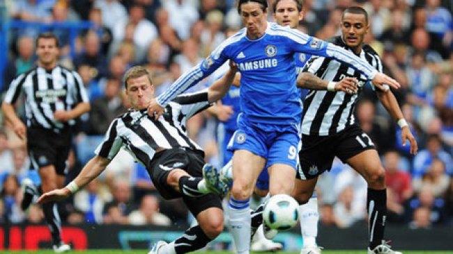 Panasnya Pertandingan Chelsea dengan Newcastle