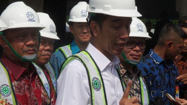 Jokowi Resmikan Rumah Murah 112 Juta
