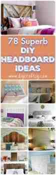 78 Superb Diy Headboard Ideas For Your Beautiful Room Diy Crafts