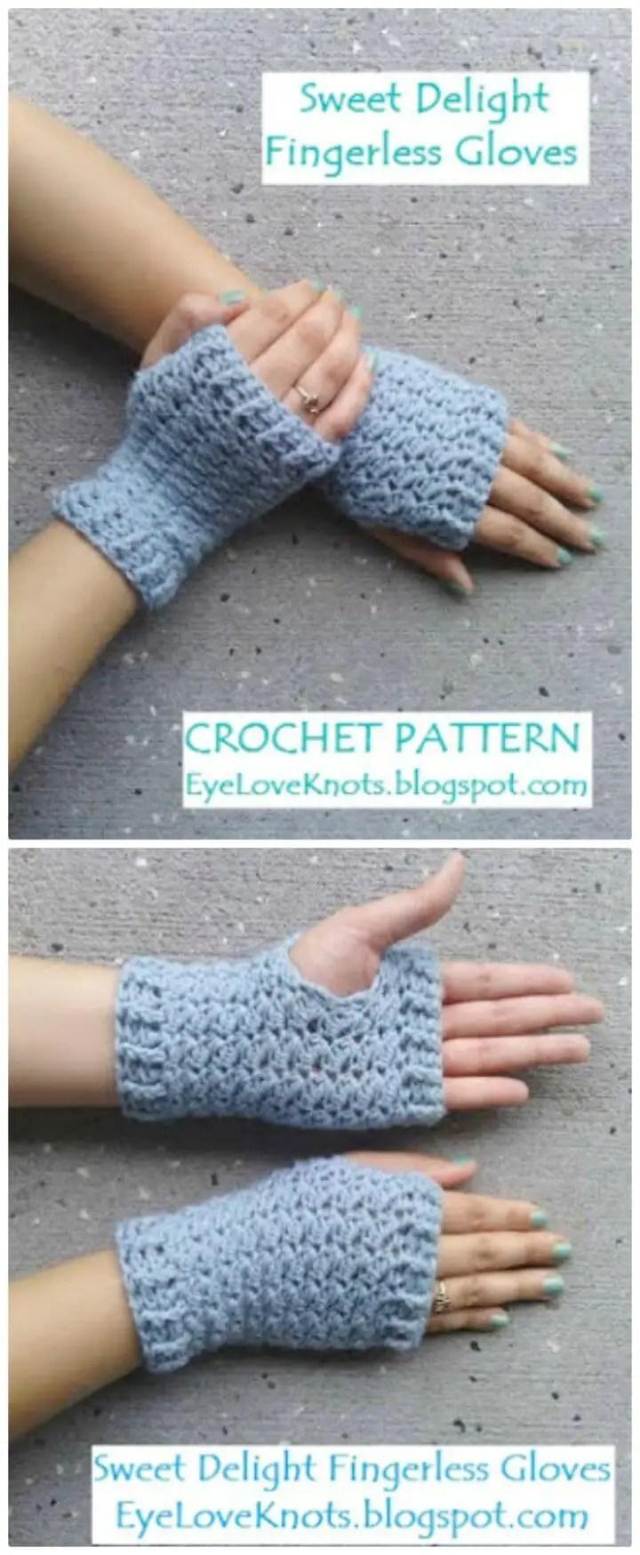 Free Crochet Pattern Hand Warmers Beginners