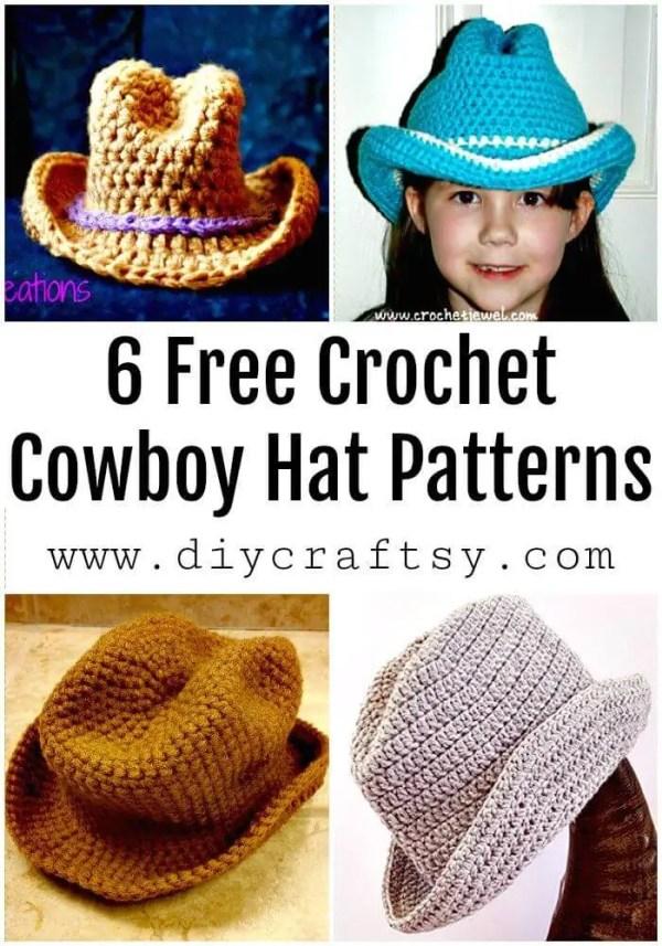 cowboy hat pattern # 58